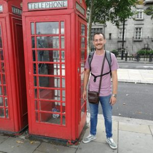 Stagiaire de Alex en Morito Hackney Road – Londres agosto 2018